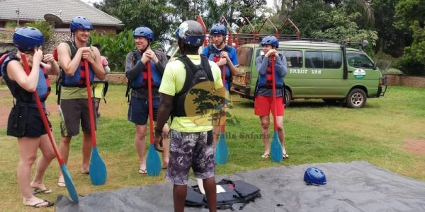 5 Days Gorilla and White water rafting safari Uganda