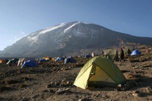 8 Days Rwenzori Hiking trip - Hike from Bujuku (3977m) to Elena Hut (4541m)