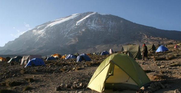 8 Days Rwenzori Hiking trip - Hike from Bujuku (3977m) to Elena Hut (4541m)