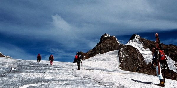 8 Days Rwenzori Mountains hiking trip - Start of hike from Nyakalengija to Nyabitaba Hut