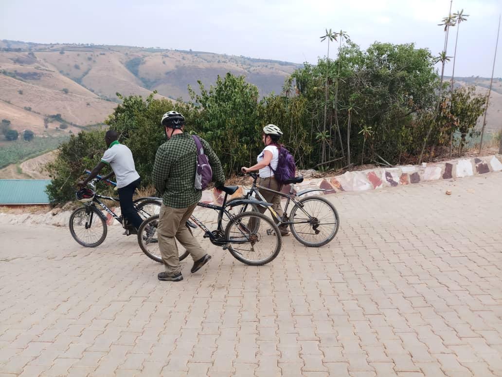 Bikes at Murchsion Falls National Park