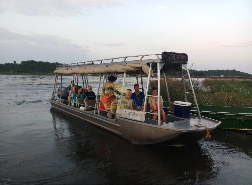 Boat cruise at Murchison Falls - Wild Jungle Trails Safaris