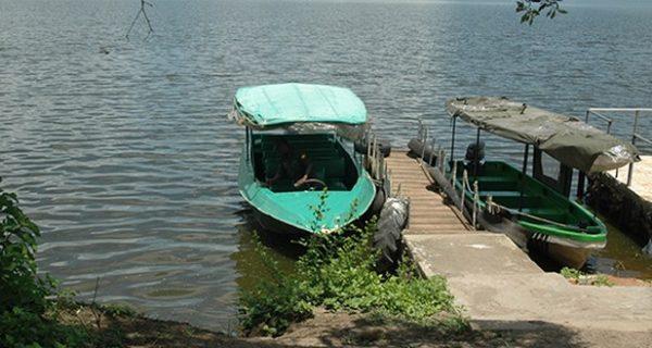 Boat cruise in Lake Mburo National Park