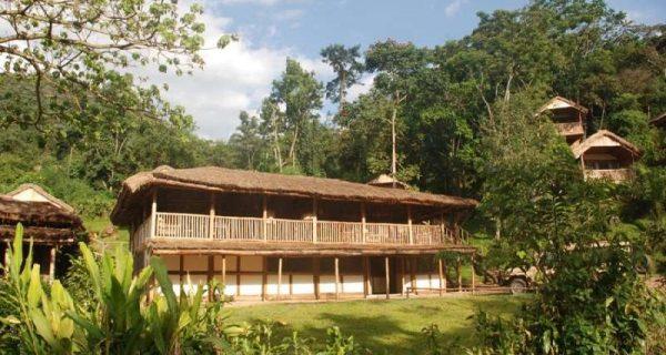 Buhoma Lodge in Bwindi Impenetrable National Park Uganda