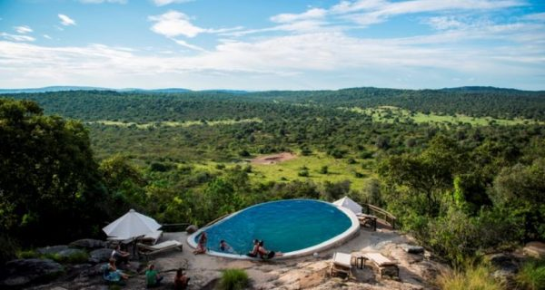 Mihingo Lodge in Lake Mburo National Park