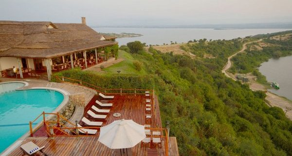 Mweya Safari Lodge in Queen Elizabeth National Park - Wild Jungle Trails Safaris