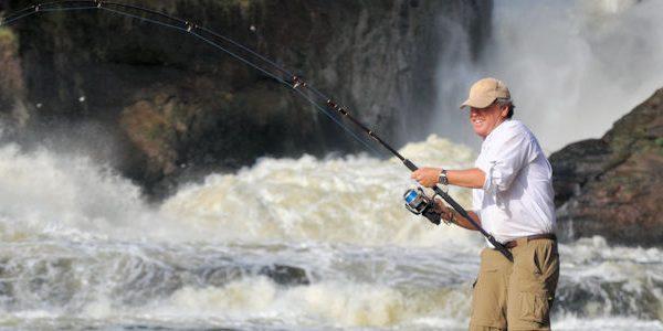 Sport fishing in Murchison Falls National Park - wild jungle trails safaris