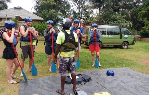 Water Rafting Safaris in Uganda - Wild Jungle Trails Safaris