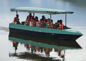 boat cruise in Lake Mburo 16 Days Uganda wildlife, Gorilla and Chimpanzee trekking safari - Wild Jungle Trails Safaris