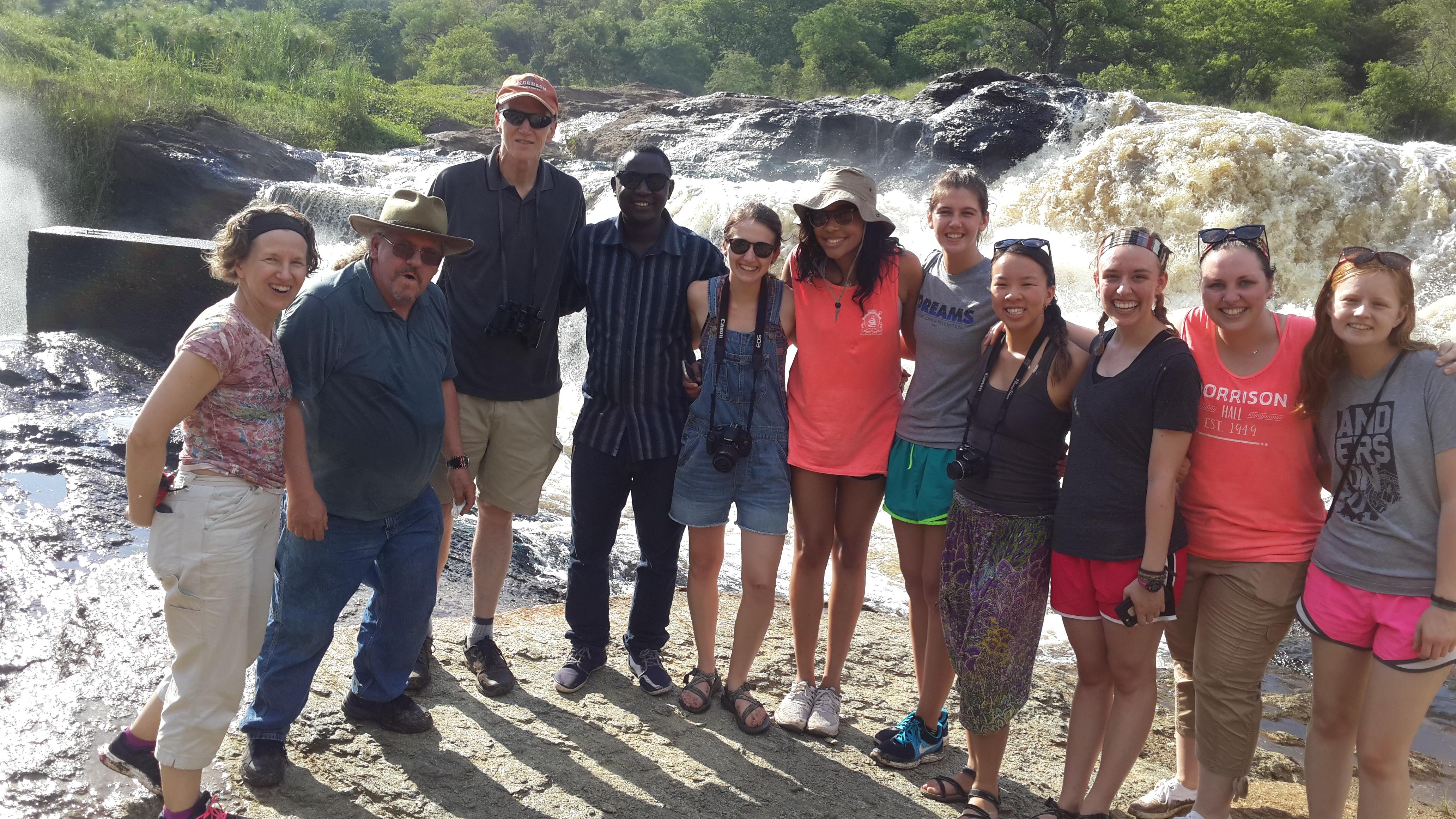 hike to the top of Murchison Falls. - 15 Days Uganda wildlife, Gorilla and Chimpanzee trekking safari