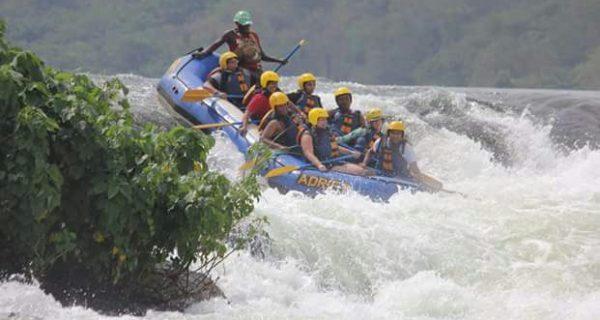 white water rafting - river nile uganda tour
